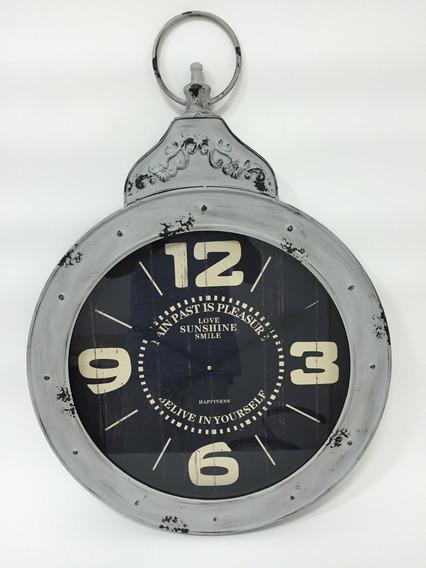 Lindíssimo Relógio De Parede Em Metal 80x60 F494