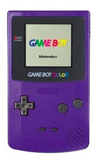 Consola Game Boy Color Grape Purple Garantia Usado Vdgmrs