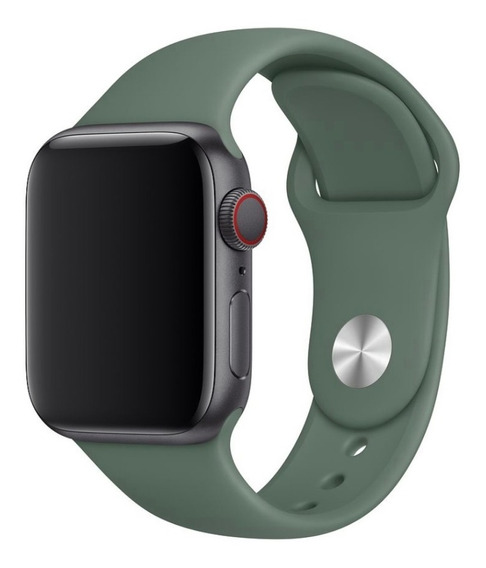 Pulseira Sport Para Apple Watch Verde 42mm/44mm