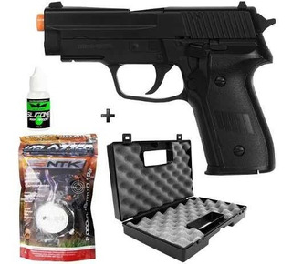 Pistola Airsoft Spring Sig Sauer P226 + Maleta + 2000 Bbs