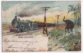 Cartão Postal Antigo (1904)