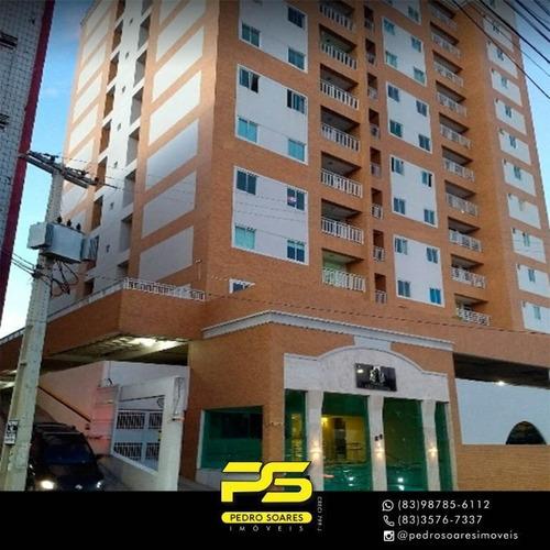 Apartamento Com 4 Dormitórios À Venda, 225 M² Por R$ 699.000 - São José - Campina Grande/pb - Ap3154