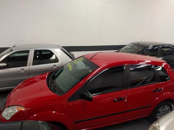Ford Fiesta 1.0 Flex Trend 5p 2008 Vermelho Ac. Auto Maior