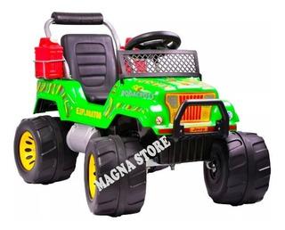 Jeep Camioneta Auto Bateria 12v Explorator 4a9años Rodacross