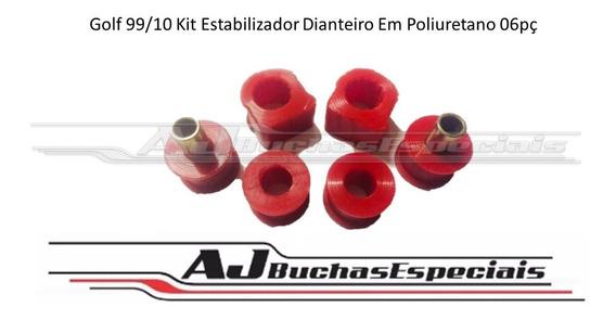 Golf 99/12 Kit Estabilizador Dianteiro Em Poliuretano 06pç