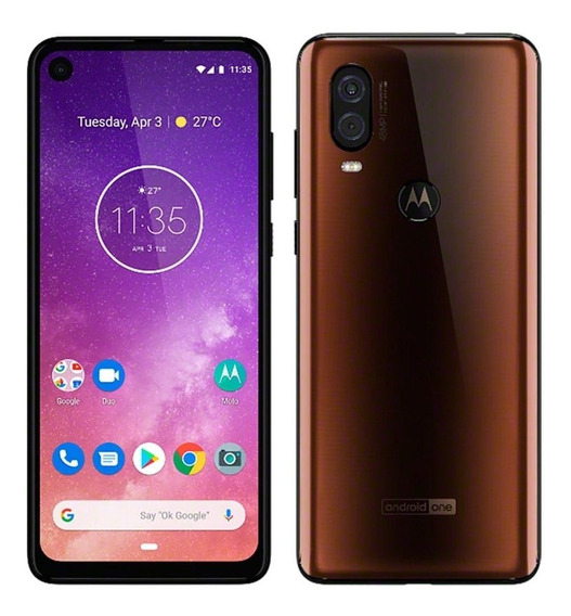 Smartphone Motorola One Vision Bronze Dual Chip 128gb, 4g