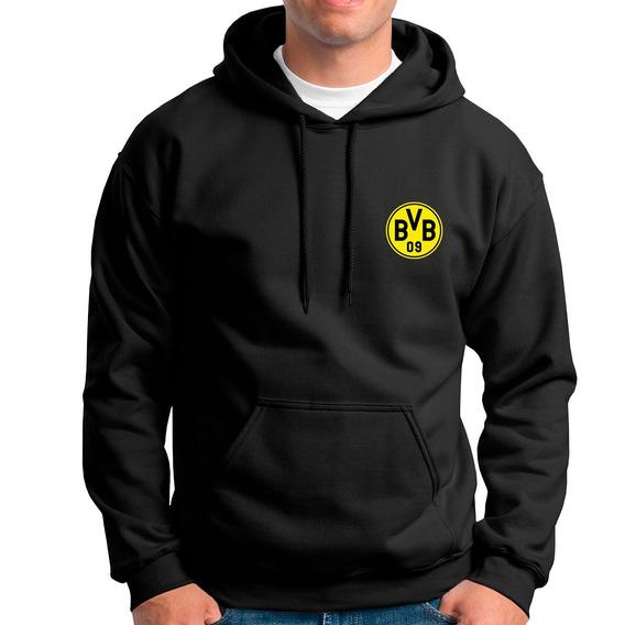 Blusa Moletom Borussia Dortmund Time Futebol Casaco De Frio