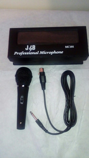 Microfono Unidireccional Dinamico J&b Mc 101