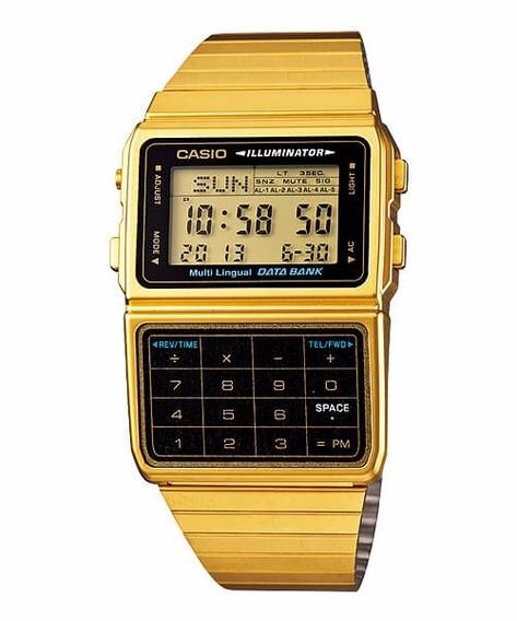 Relógio Casio Databank Dbc-611g-1df - Garantia Casio Brasil
