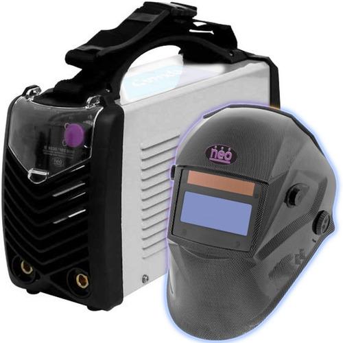 Soldadora Inverter Neo Ie9200 200amp + Careta Fotosensible
