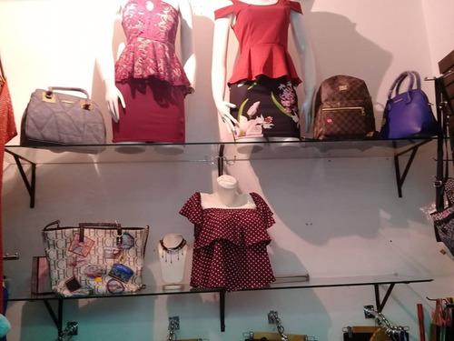Imagen 1 de 1 de Estante,repisa De Vidrio Para Boutique,tienda