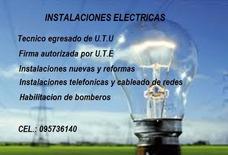 Electricista / Instalaciones Electricas