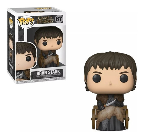 Figura Funko Pop! Tv Game Of Thrones Got Bran Stark #67
