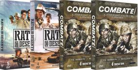 Combo Ratos Do Deserto Combate Quarta Temporada 17 Discos
