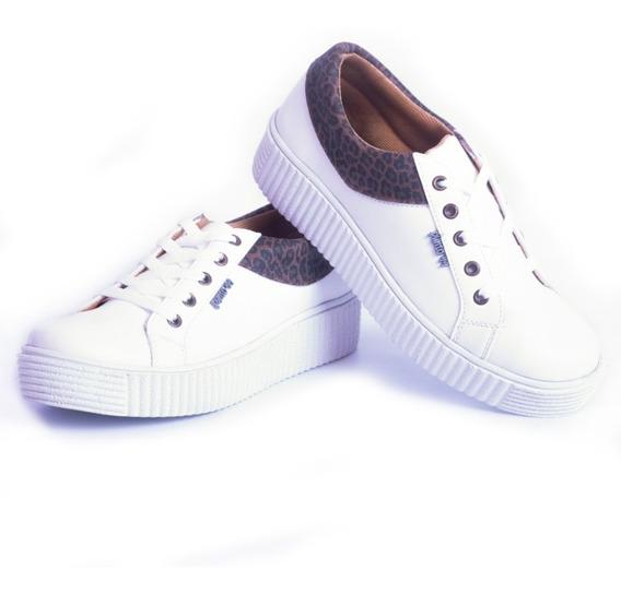 Zapatillas De Nena Con Plataforma Sneaker Urbana Moda