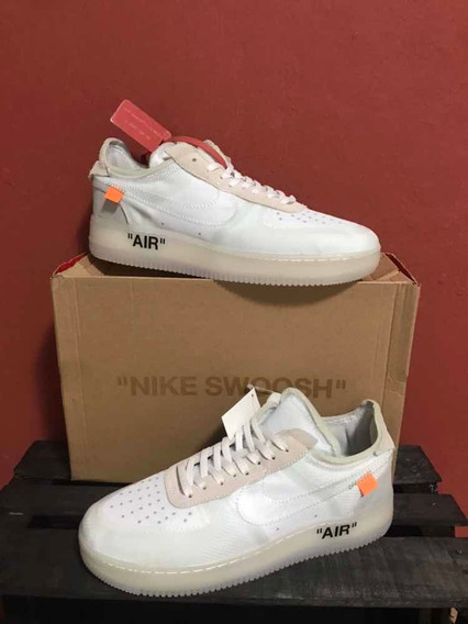 Sneakers Air Force 1 Low Off White Blancos 1.1 Ua Con Caja