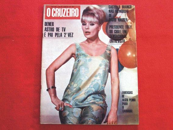 Revista O Cruzeiro N° 17 De 21 De Janeiro De 1967 ! Ótima !