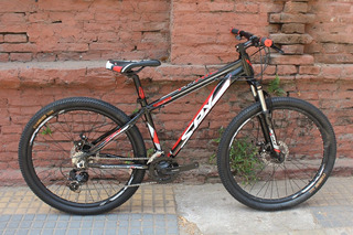 Bicicleta Spy Trail Rodado 27.5 Disco Shimano Planet Cycle.