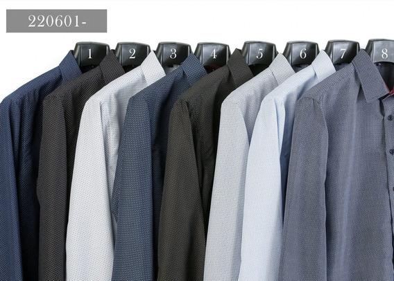 Camisa Slim Estampada 220601-4