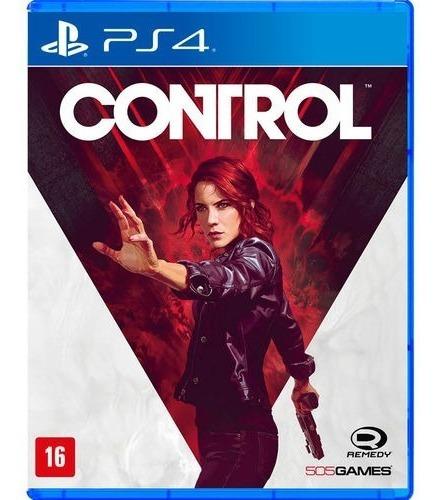 Control (mídia Física Legendado Pt-br) - Ps4 (novo)