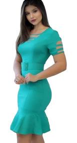 Combo 2 Vestido Evangélico Moda Joven Roupas Feminina.