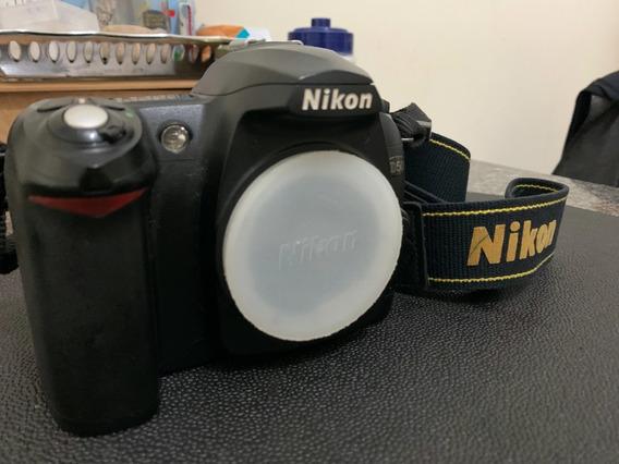 Nikon D50 Conservada, 100% Funcional, 2 Baterias, Só Corpo