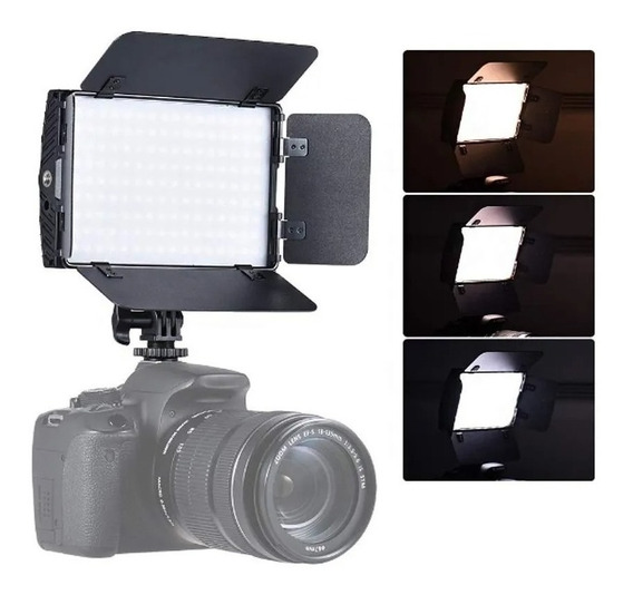 Iluminador Led Pt-15b Pro Ii - Nikon Canon Sony Fuji