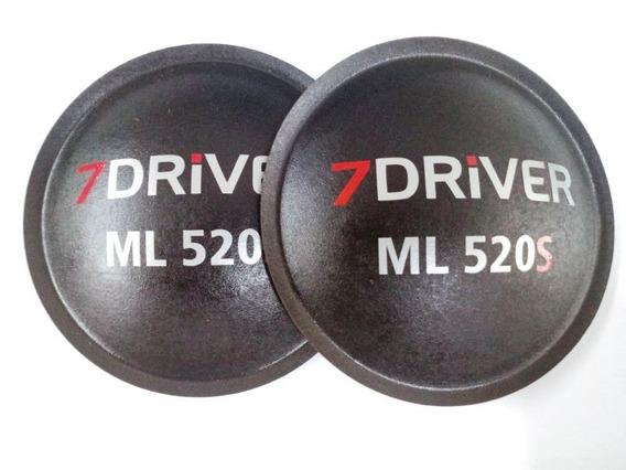 12 Protetores Falante 7 Driver Ml 520s 125 Mm