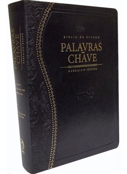 Bíblia De Estudo - Palavra Chave Luxo Preta
