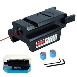Beileshi Rojo Dot Láser Vista Táctico 20mm Weaver Estándar