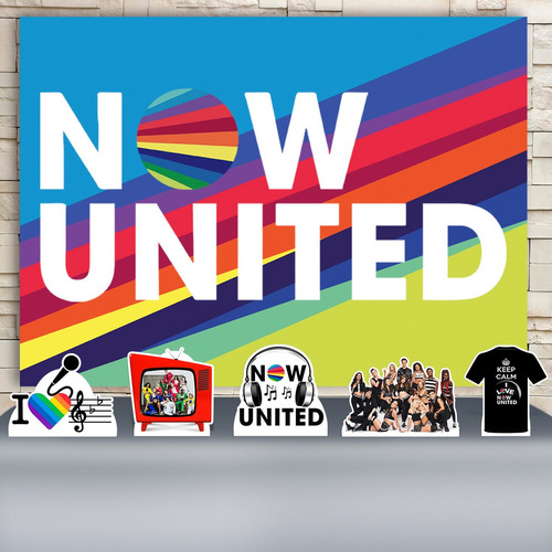 Kit Festa Infantil Now United