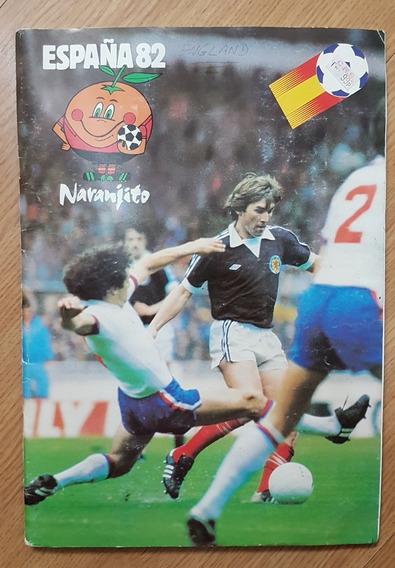Album De Figurinhas Copa Do Mundo Fifa Espanha 1982