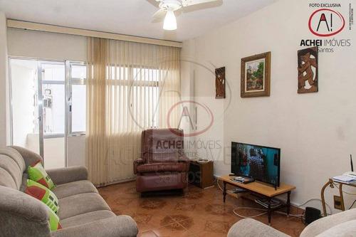 Imagem 1 de 29 de Apartamento Com 3 Dormitórios À Venda, 90 M² Por R$ 495.000,00 - Aparecida - Santos/sp - Ap9449