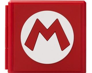 Nintendo Switch Mario Caja Para Llevar 16 Juegos - Jxr