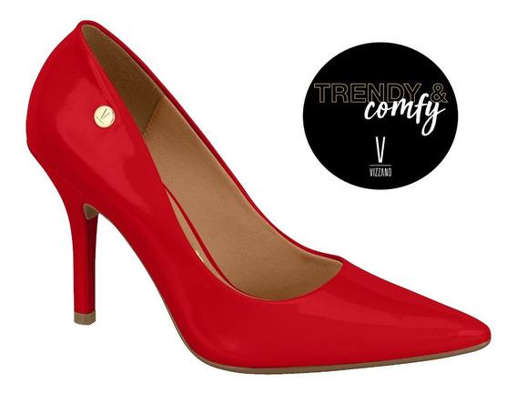 Zapatos *** Vizzano*** Stiletto Rojo Charol
