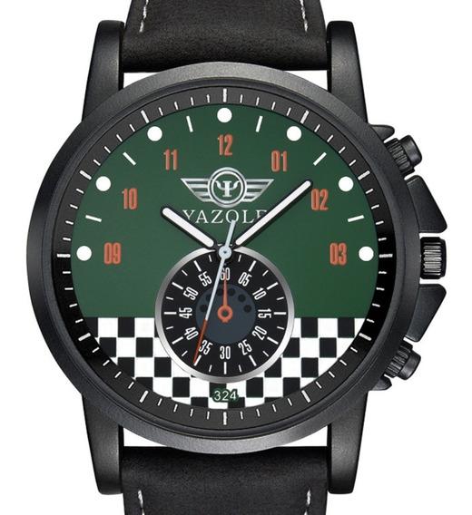 Reloj Tipo Militar Sport Análogo 2 Colores Yazole 324