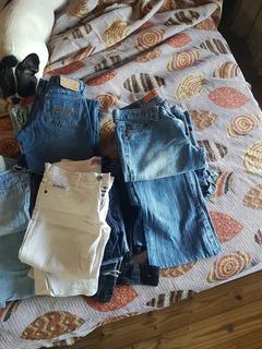 Remato Lote De 30 Jeans Oxford, Chupin, Capri Tiro Bajo