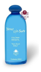 Colonia Infantil Blosson Kids Suave Soft Sem Álcool 200ml