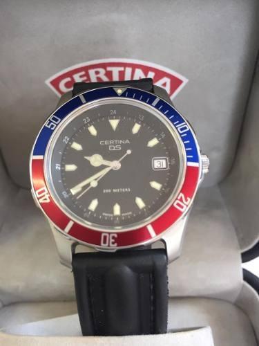 Relógio Vintage Certina Ds 200m Divers Eol 7193 Original