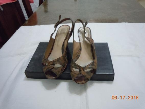 Zapato Mujer Taco Chino
