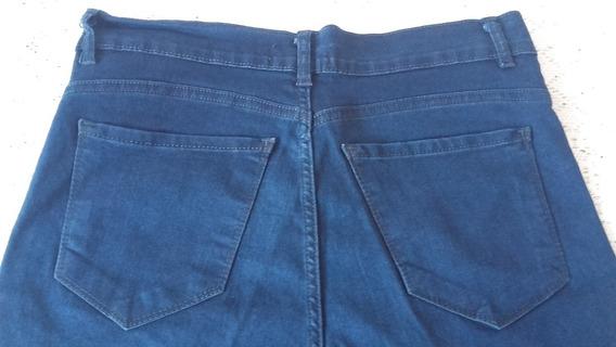 Jean Mujer Pantalon Chupin Elastizado T 44 Nuevo Impecable!!