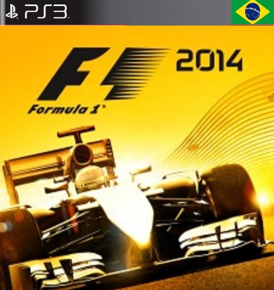 Jogo Formula 1 2014 Ps3 Dublado Psn Game F1 2014 Promoção