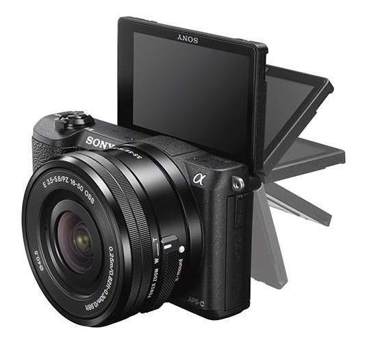 Camera Sony A5100, Na Caixa, Baterias Extras + Lente 55 210