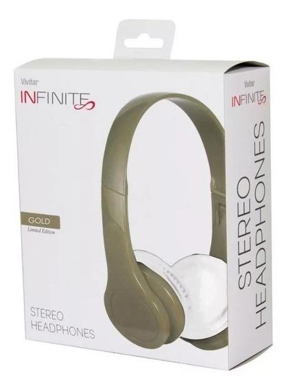 Headphone C/ Plug P2 3,5mm Cabo 1,2 M Vivitar