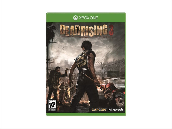 Game Xbox One Dead Rising 3 Mídia Física/ Novo/ Lacrado