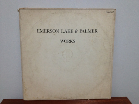 Lp/vinil - Emerson Lake & Palmer Works Volume 2 Elp