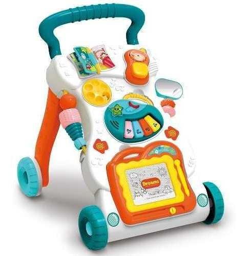 Andador Infantil Bebê Educativo Mesa Com Som E Atividades