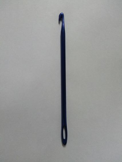 Aguja Para Crochet Con Ojo Aluminio Nro 6