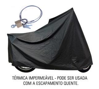 Capa Térmica Moto C/ Cadeado Suzuki Boulevard S40 | Ctm3c