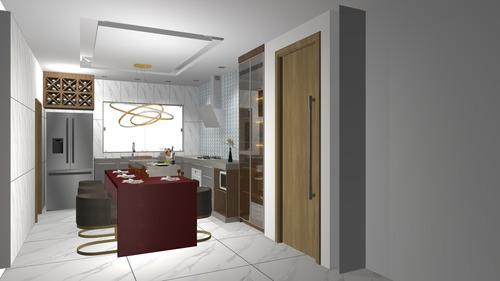 Imagem 1 de 10 de Projetos 3d, Moveis Planejados,maquete,desing Interior